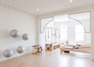 Pilates studio in Melbourne with reformer machines